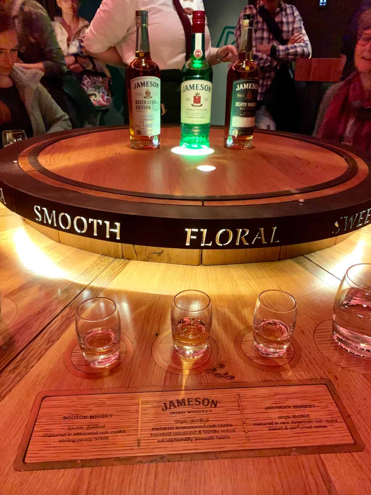 The Jameson tour ends with a blind competitive tasting