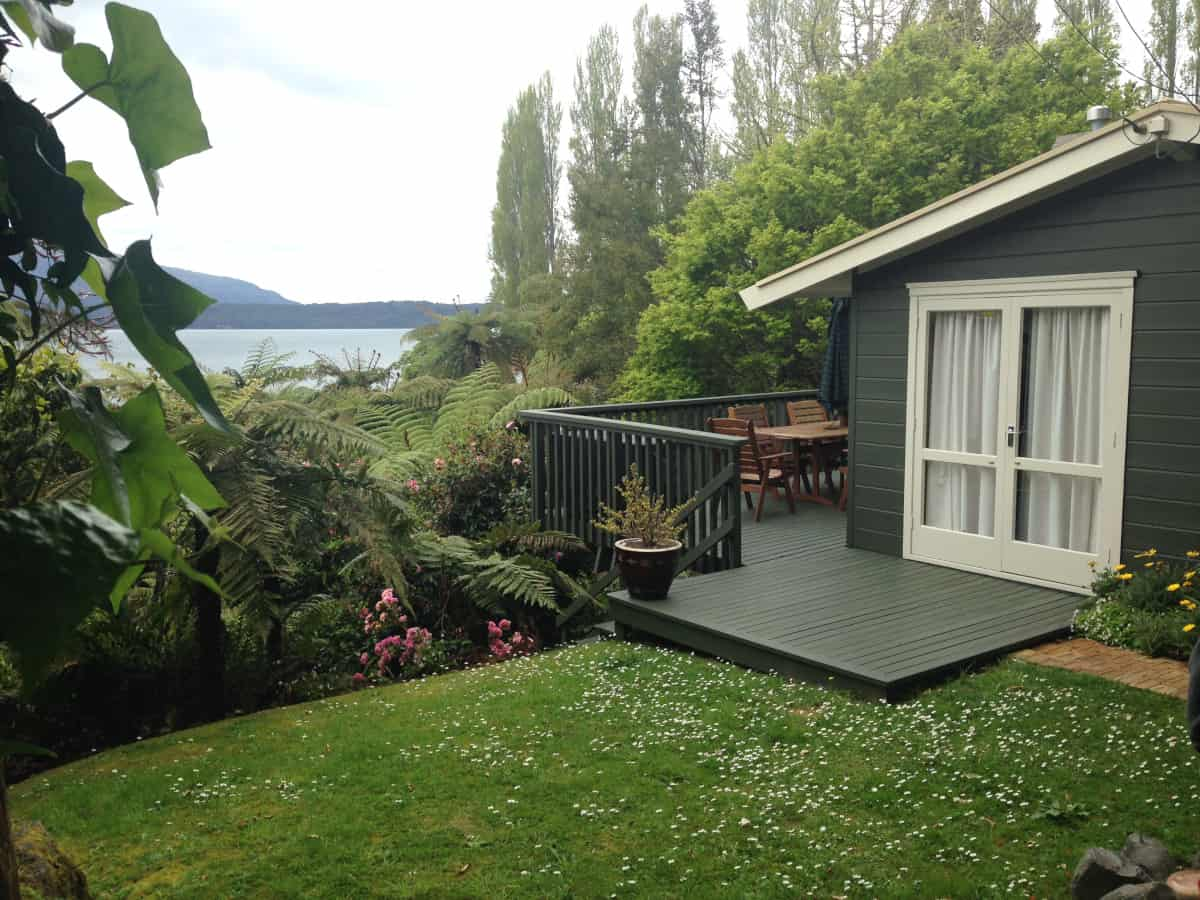 A peaceful cabin on Lake Tarawera - a New Zealand itinerary