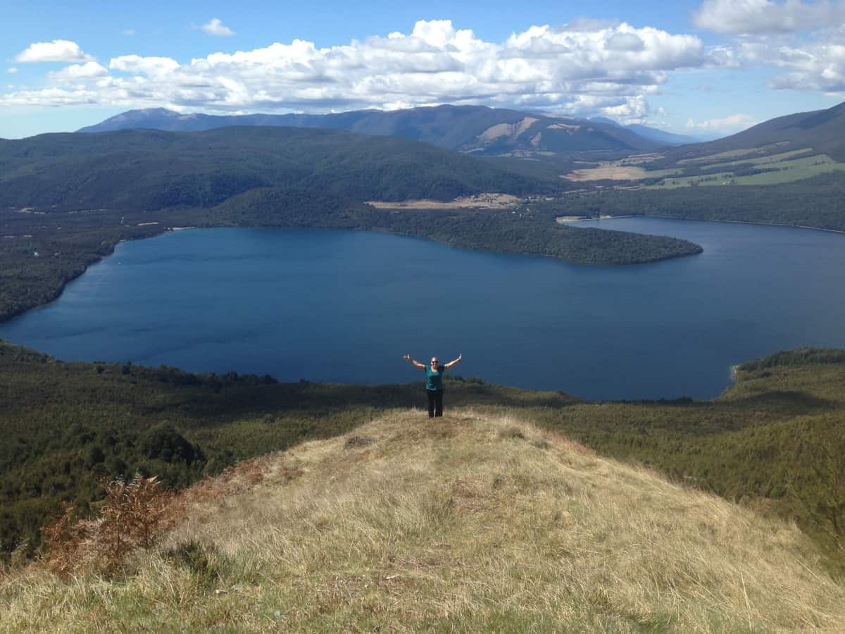 Hiking Pinchgut Track in Nelson Lakes National Park - a two-week New Zealand itinerary