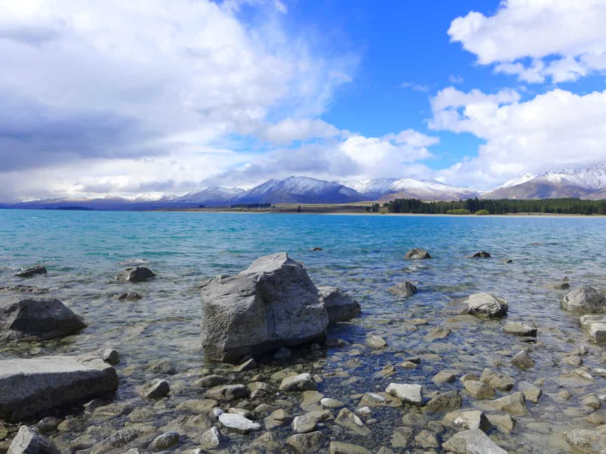 The stunning Lake Tekapo - a New Zealand itinerary must