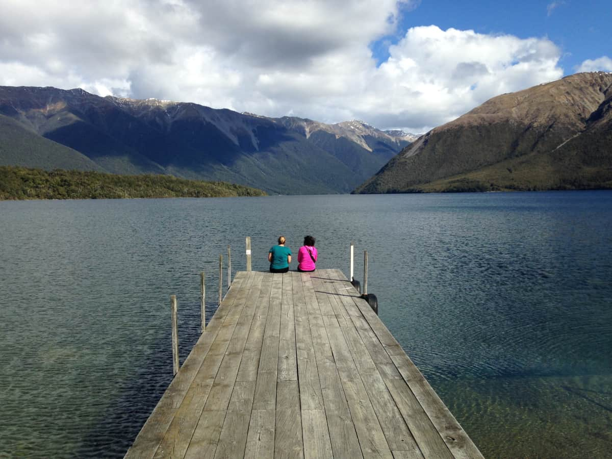 Lake Roitoiti and hiking Pinchgut Track - what to do in New Zealand