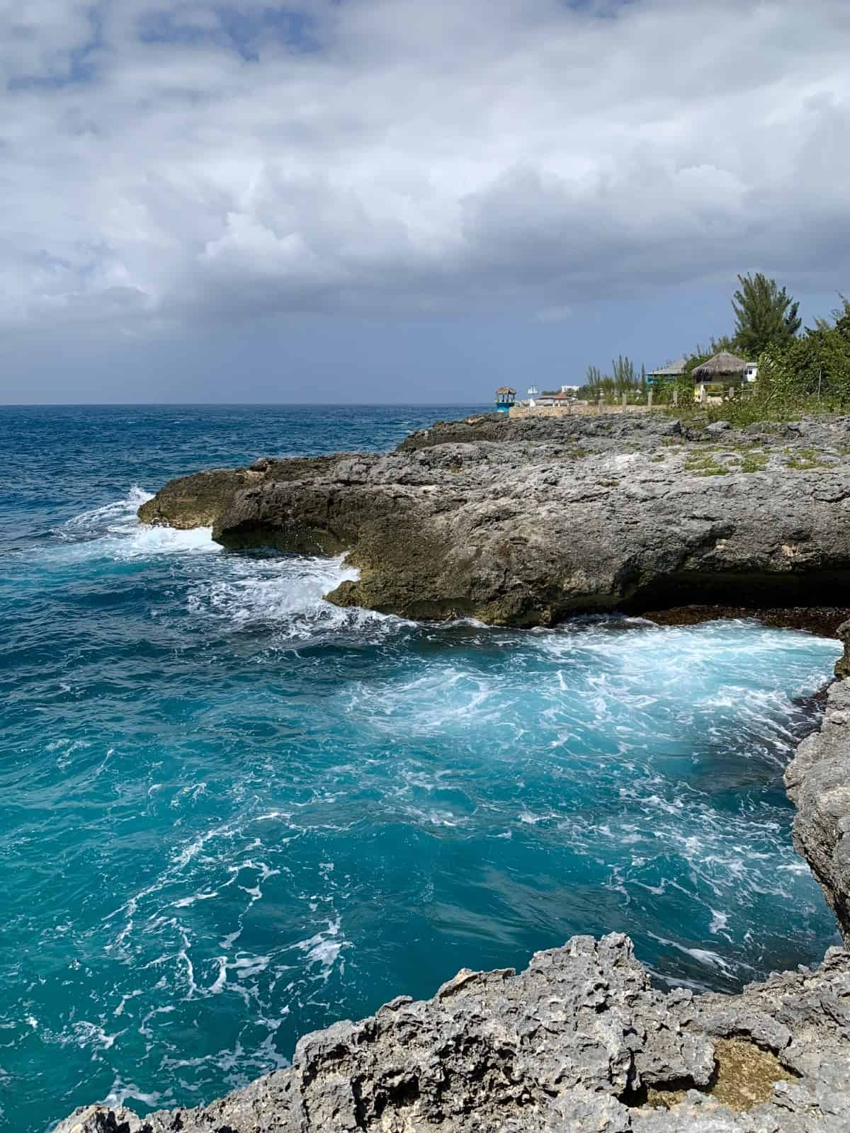 The West End cliffs in Negril are a must-visit
