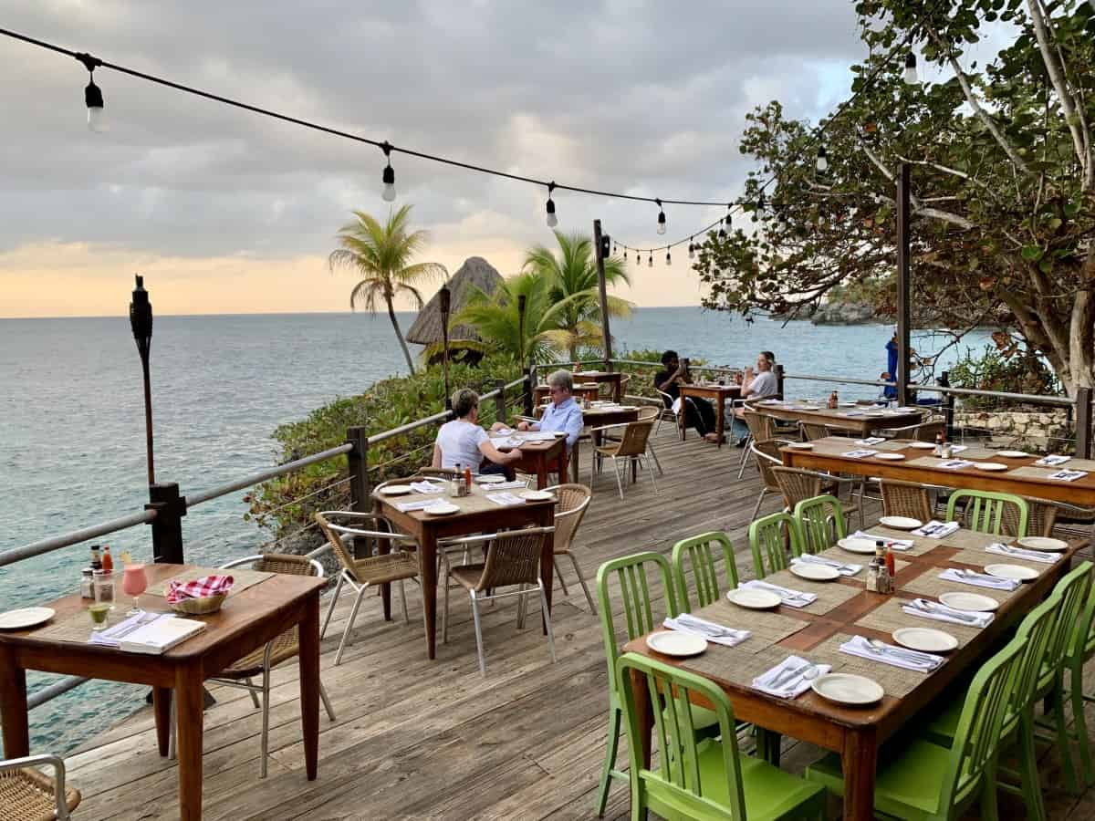 The view at Rockhouse, Negril, Jamaica