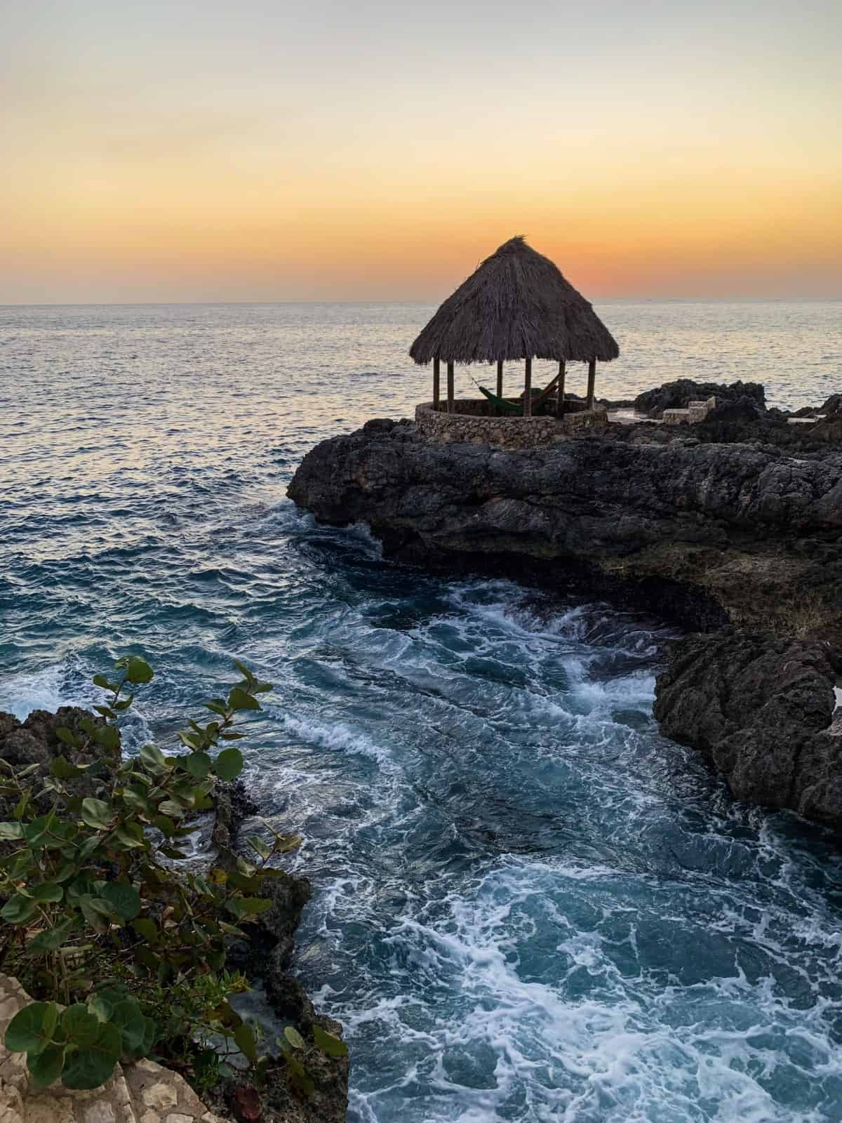 The sunsets in Negril, Jamaica