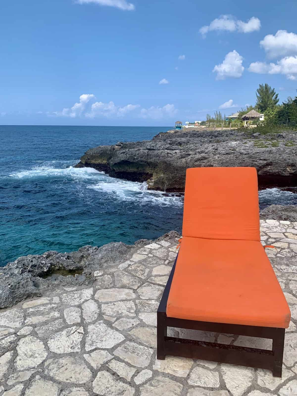 The isolated cliffs make me feel like I had Negril all to myself!