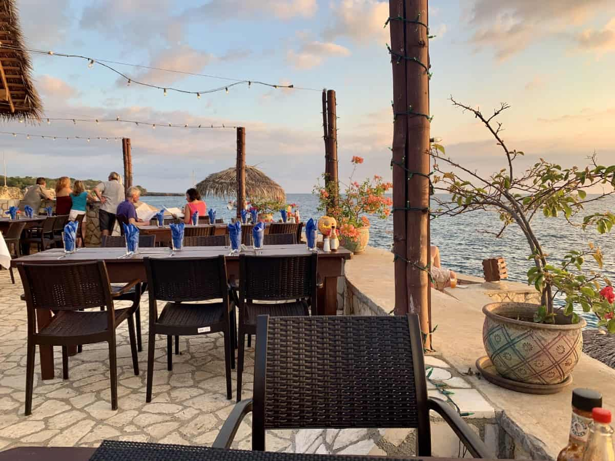 The view at Ivan's at Catcha Falling Star - Negril, Jamaica