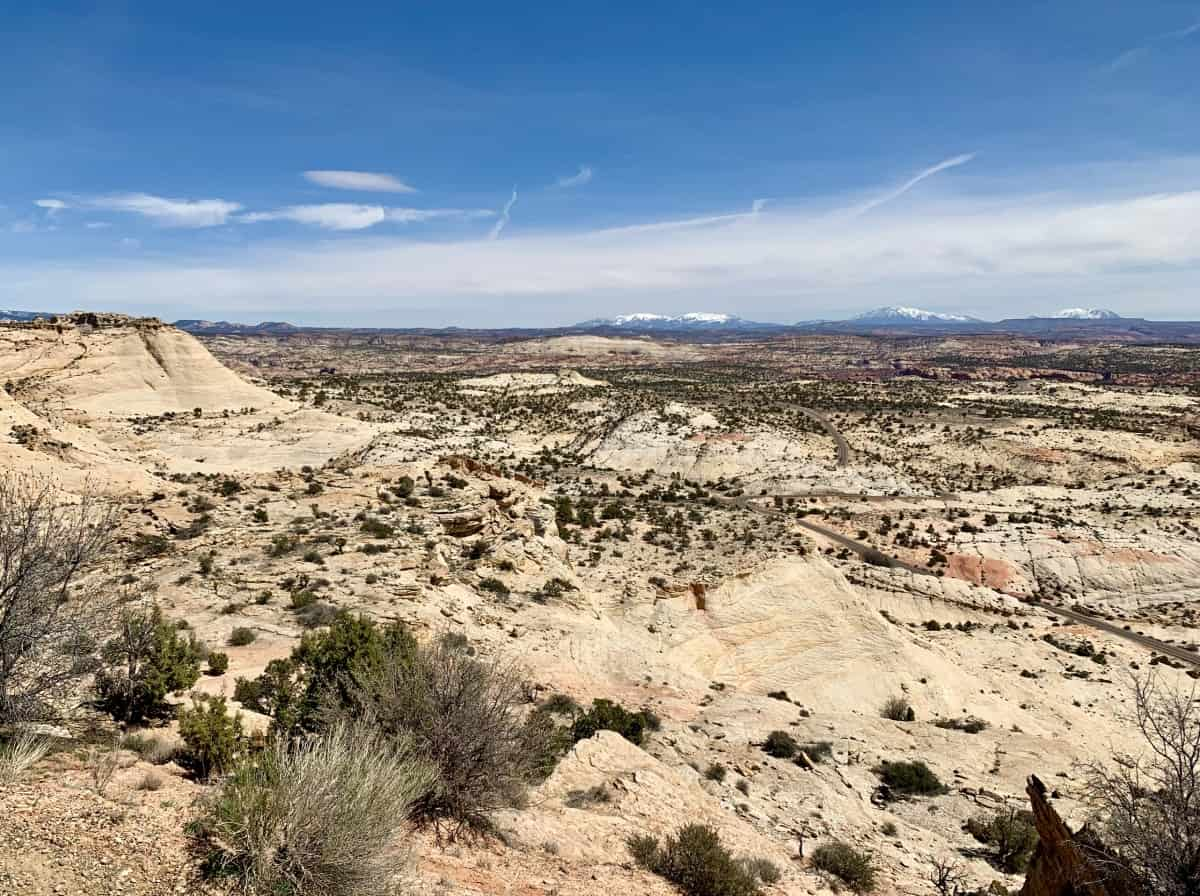 The drive through Grand Staircase-Escalante