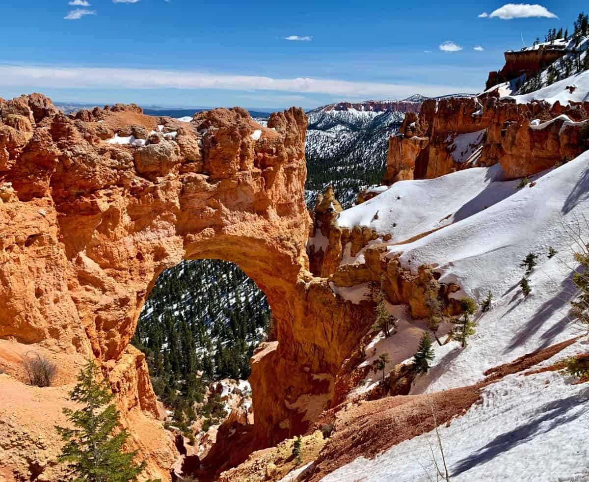 Natural Bridge in Bryce Canyon National Park