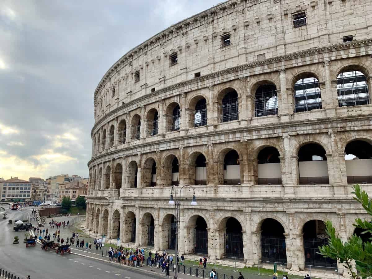 Colosseum without the crowds - where to run in Rome