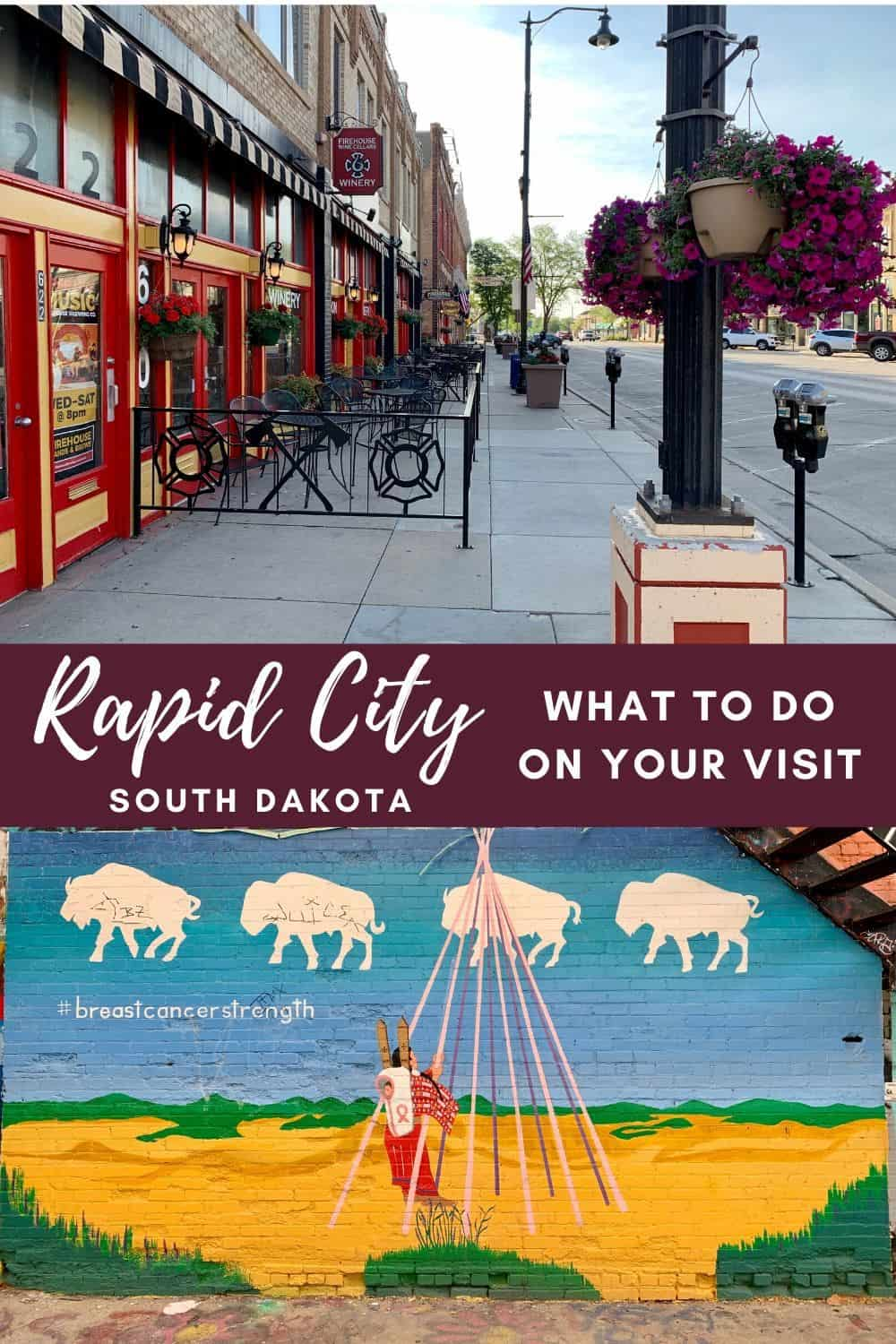 A First-Timer's Guide to Rapid City, South Dakota | Why Rapid City is a great base for exploring western South Dakota, things to do in Rapid City if you're visiting Badlands, Black Hills, or Custer State Park. This cute and patriotic little American city is a perfect weekend getaway or road trip! #rapidcity #southdakota #usa #roadtrip #weekendgetaway
