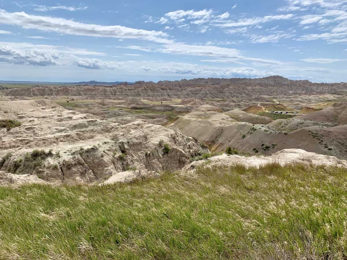 Amazing viewpoints in Badlands National Park