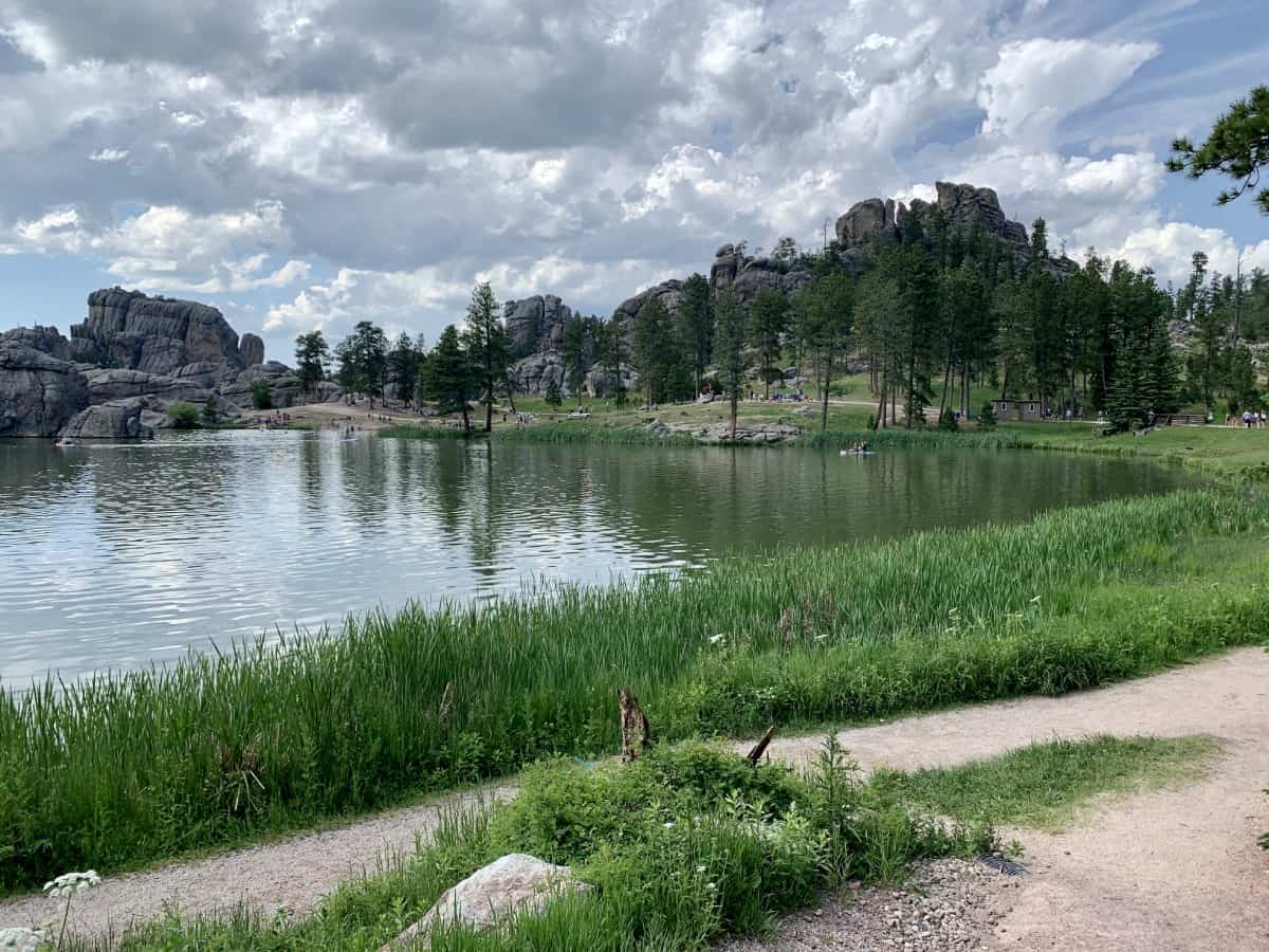 Beautiful Sylvan Lake in Custer State Park - things to do in Rapid City