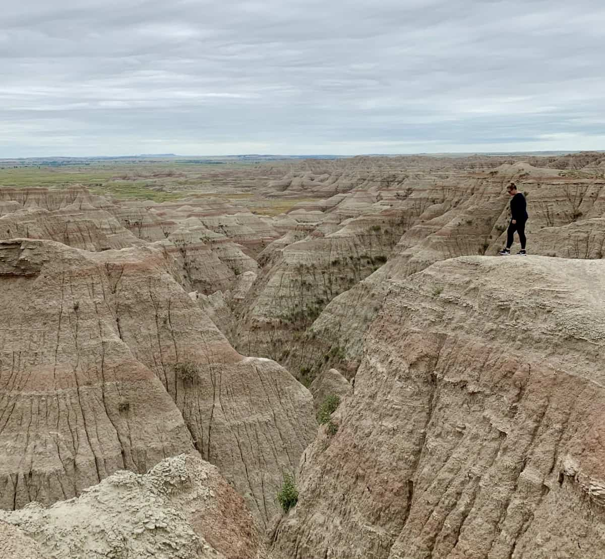 Visiting Badlands National Park is a perfect day trip from Rapid City