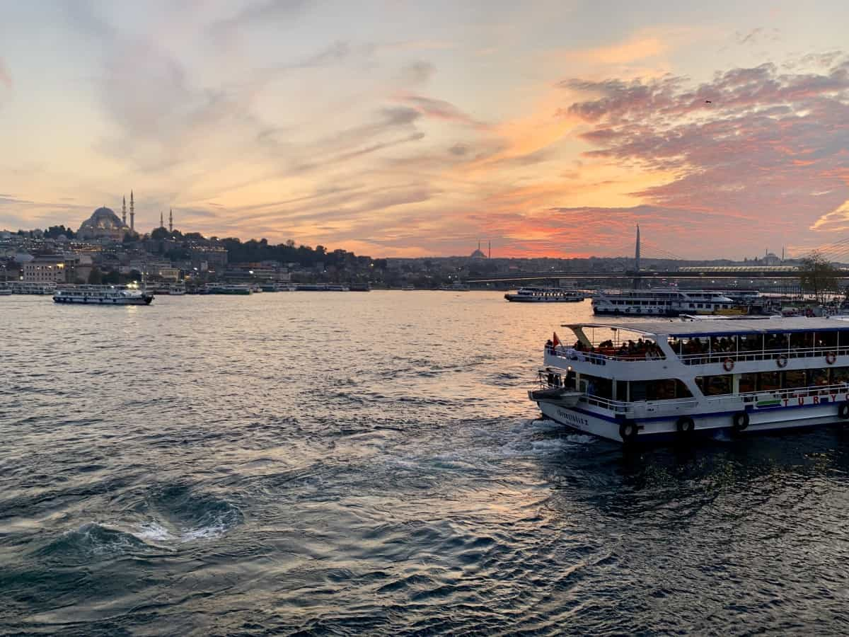 Sunset over Istanbul - Turkey trip planning guide