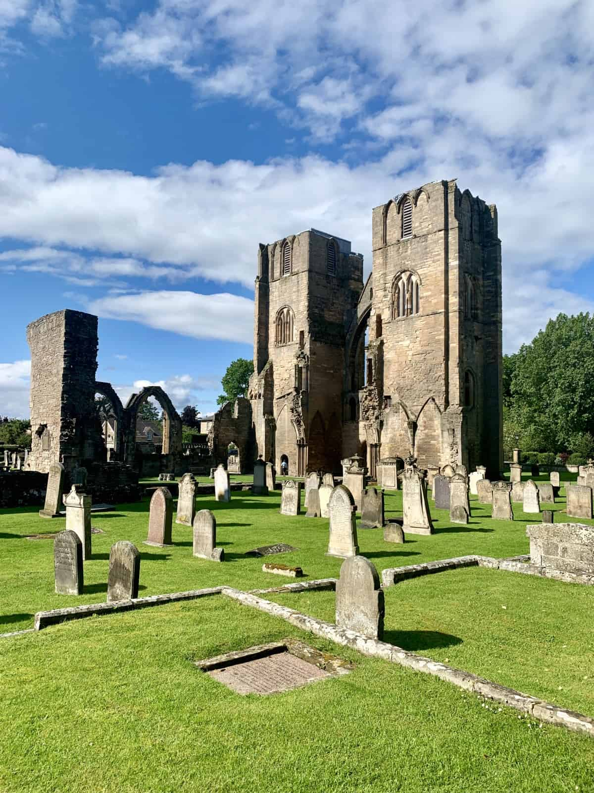 A stop at Elgin Cathedral is a must if you're driving the North East 250 route