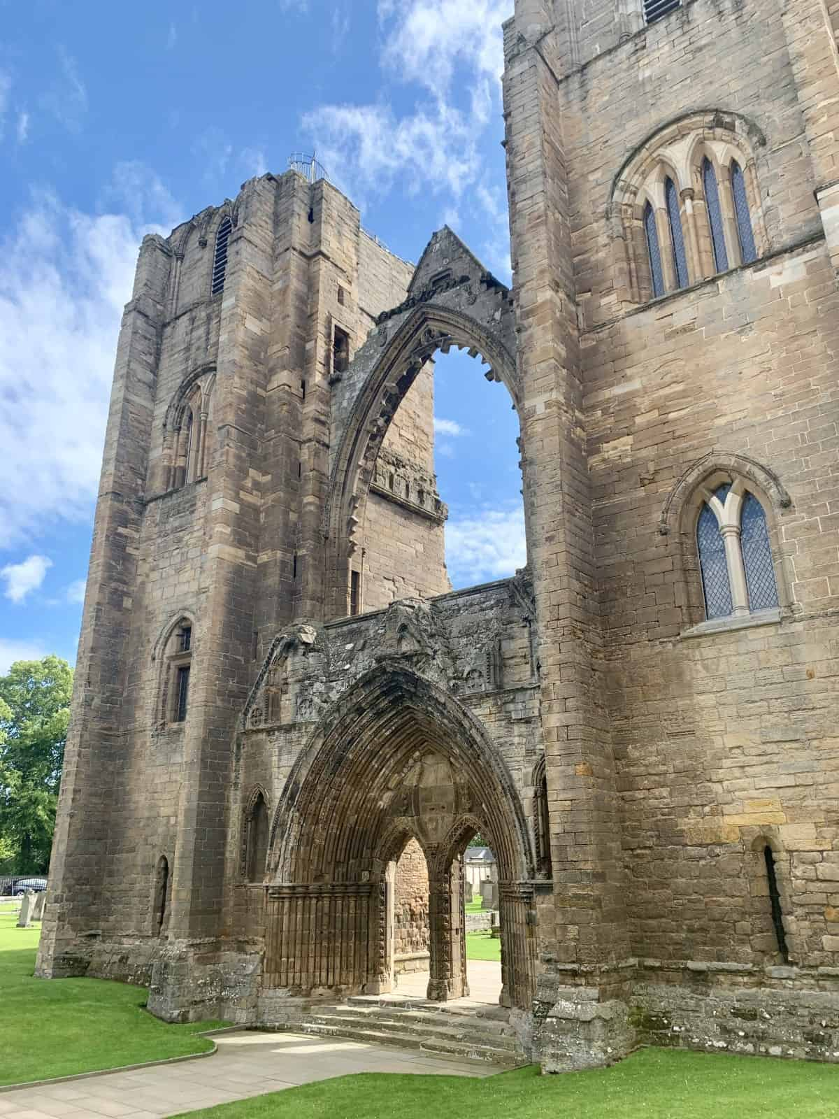 Visiting Scotland's Elgin Cathedral & Driving the North East 250 Route