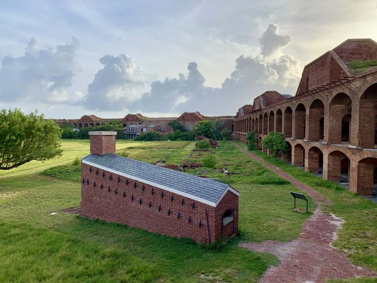 The history of Fort Jefferson is so interesting...make sure to take a tour