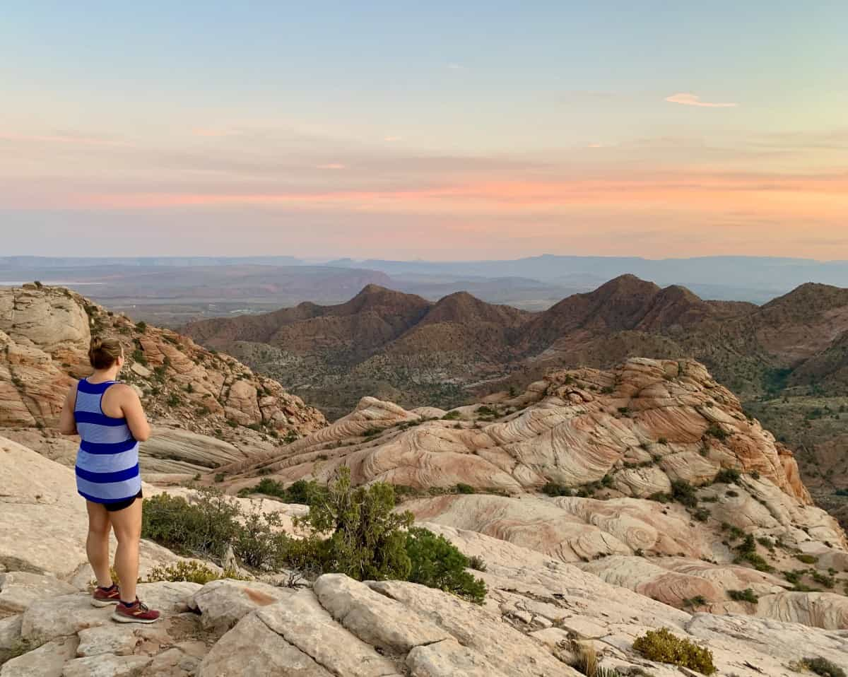 Things to do in St. George, Utah - hike Yant Flat & Candy Cliffs, Utah