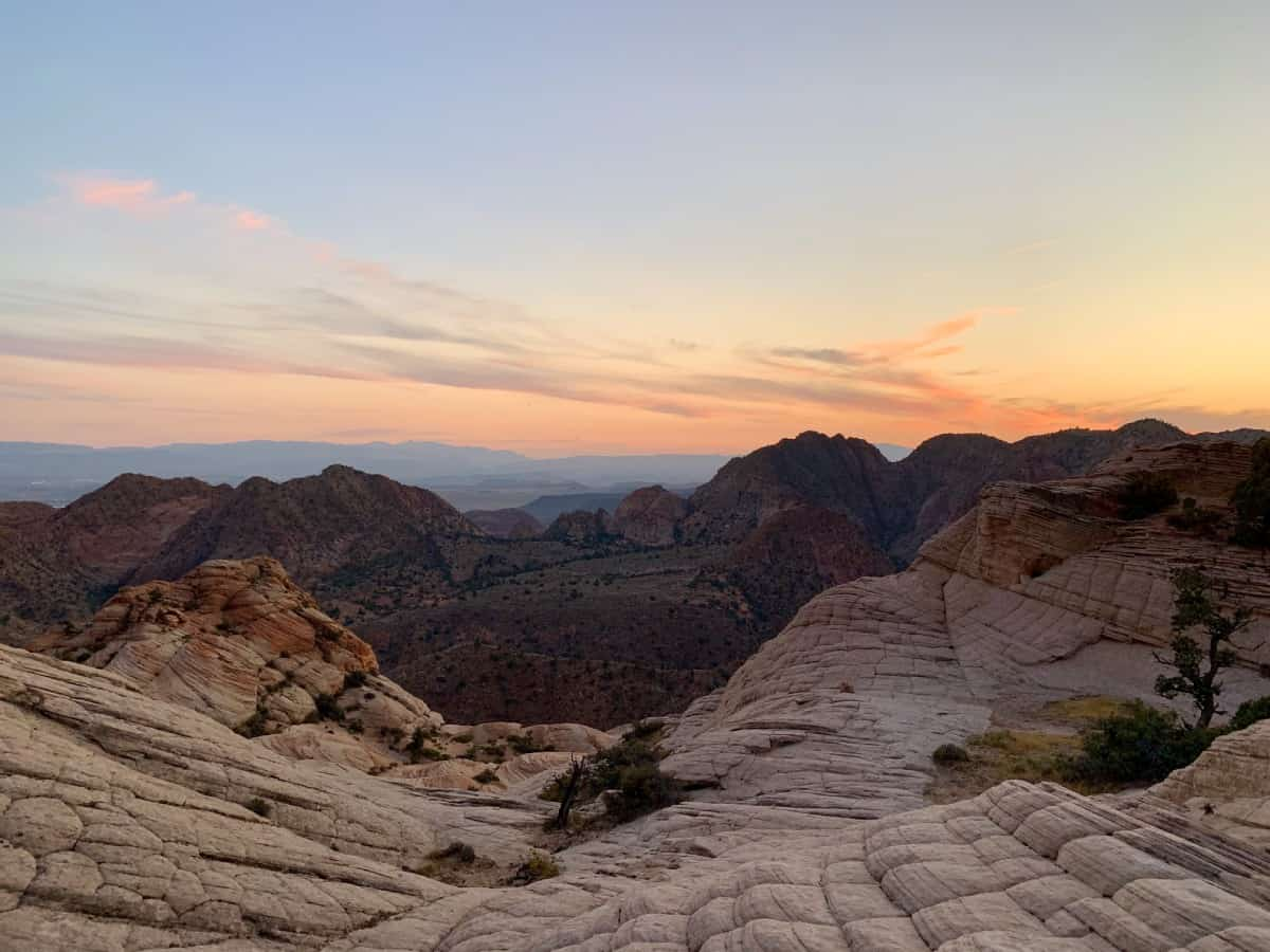 Don't miss out on the stunning Yant Flat and Candy Cliffs Utah at sunset - near St. George