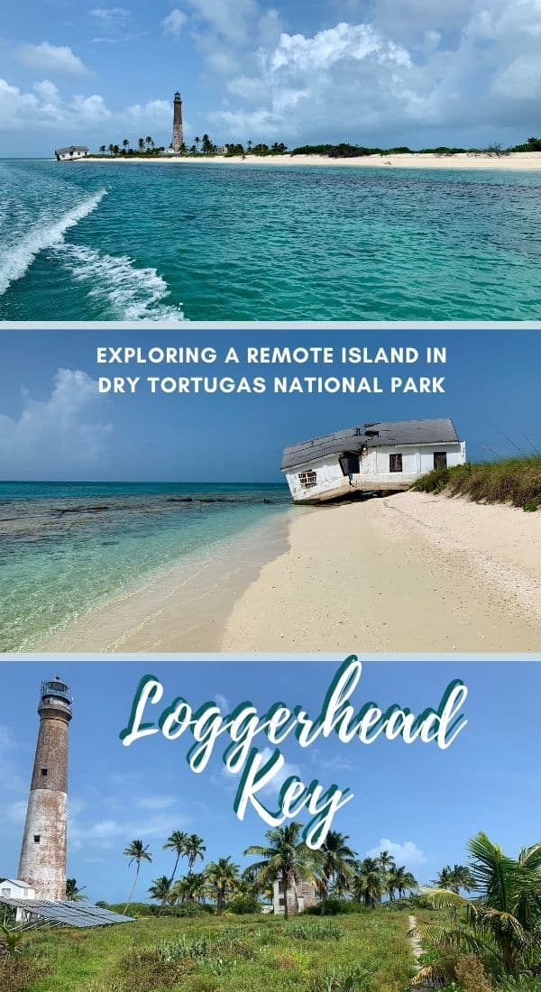 Visiting the Stunning, Remote Loggerhead Key in Dry Tortugas National Park (Florida, USA) | If you're visiting Dry Tortugas National Park, consider figuring out a way to see Loggerhead Key as well. I did a private sailboat charter down there, and had this gorgeous island all to myself. #drytortugas #keywest #nps #nationalpark #loggerhead