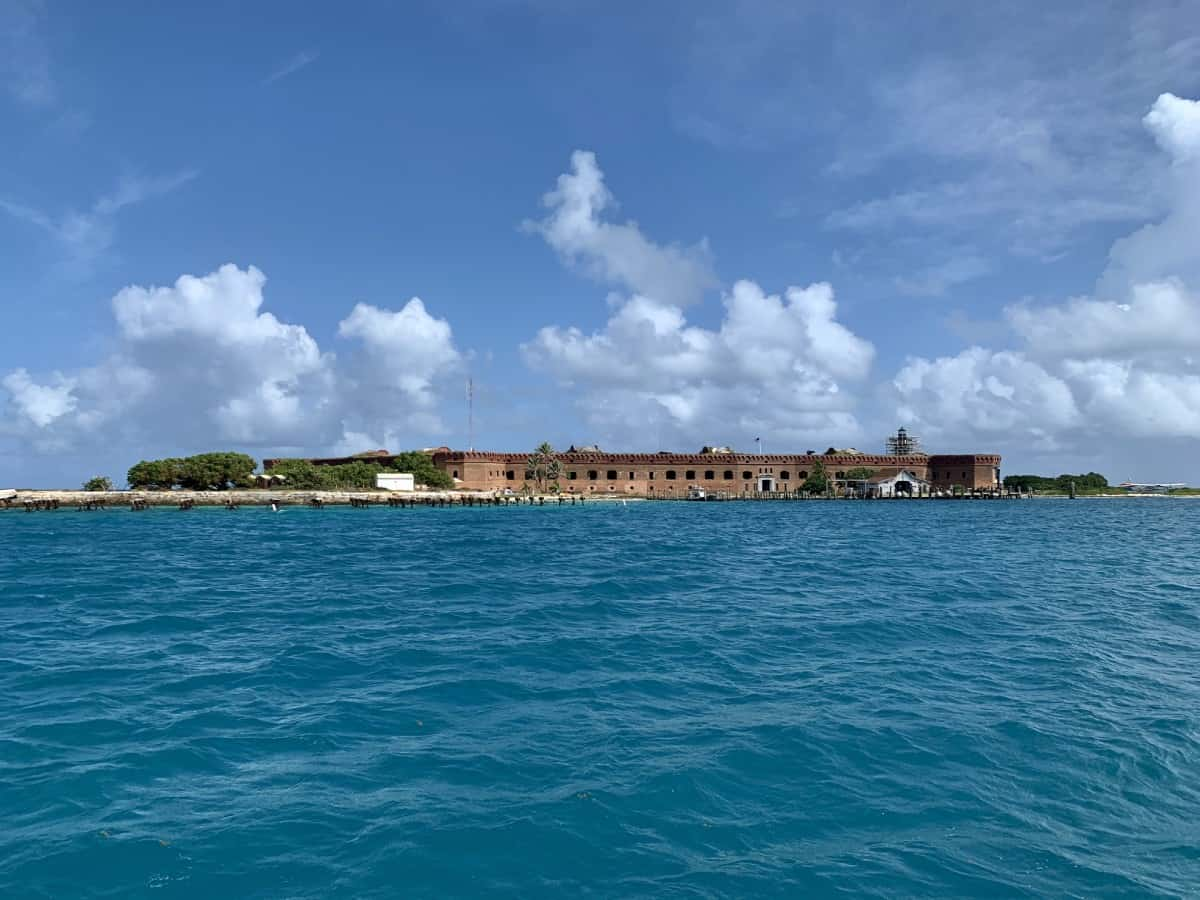 We sailed from Fort Jefferson over to Loggerhead Key for the day