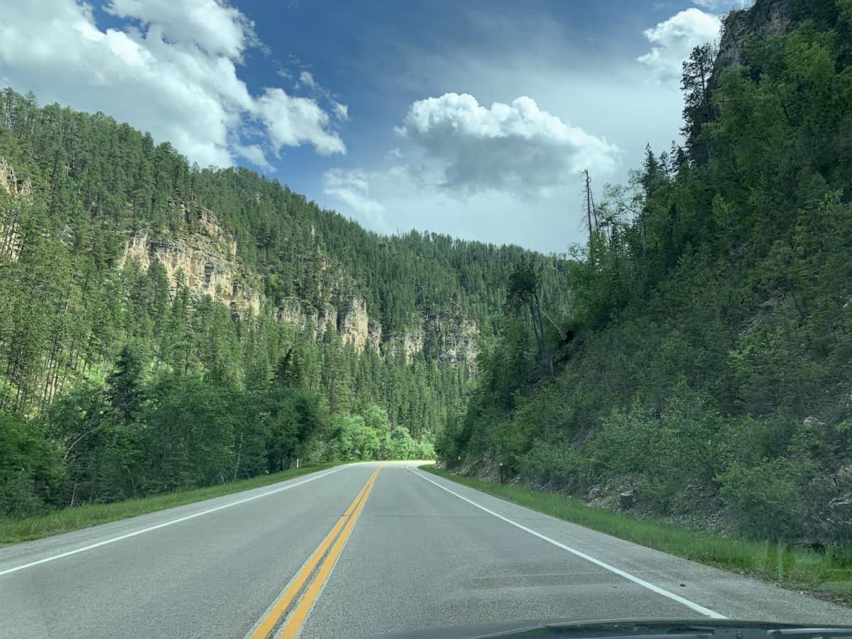 The drive along Alt 14A which is the Spearfish Canyon Scenic Byway is worth the trip alone