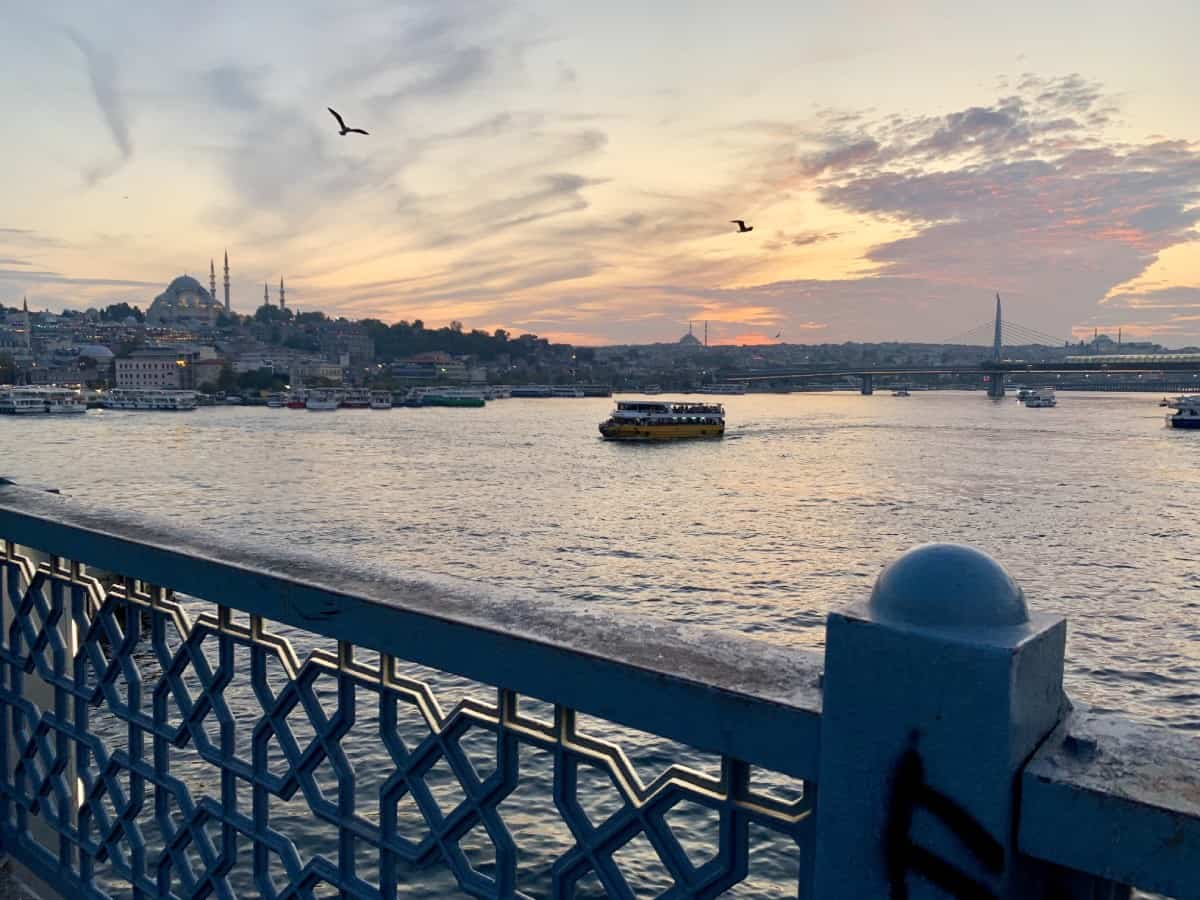 Sunset over Istanbul - what to do with a week in Turkey
