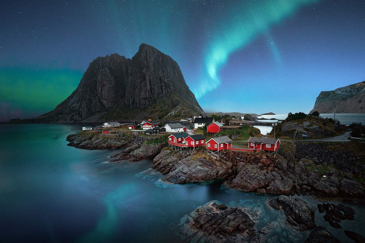 I'm dying to visit the Lofoten Islands, Norway