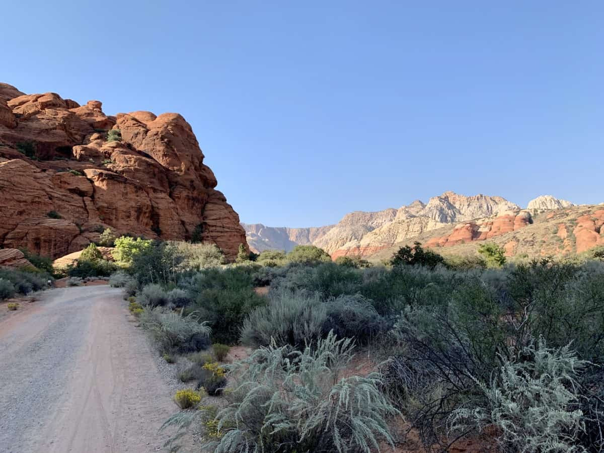 Snow Canyon hikes...the hiking overall was very manageable