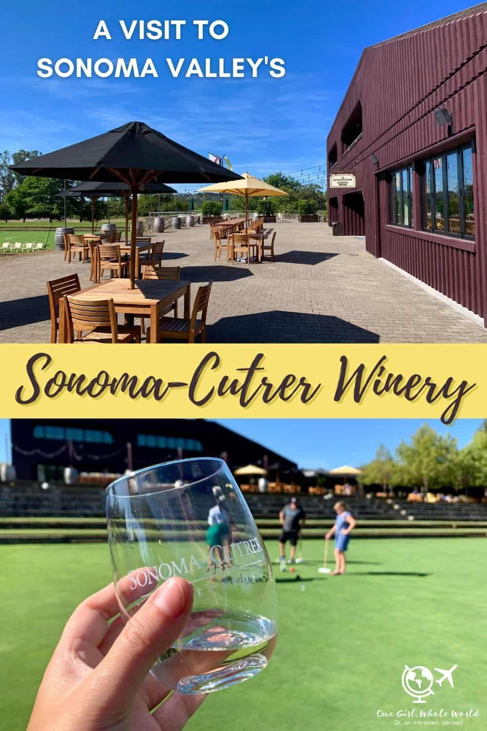 Visiting Sonoma-Cutrer in California's Sonoma Valley | The Sonoma Valley doesn't get as much love as nearby Napa, but I think it's much cooler and it's definitely less crowded. And one of the wineries you need to visit is beautiful Sonoma-Cutrer...what to do there, including wine tastings, vineyard tour, croquet, and more! #wineries #sonoma #california