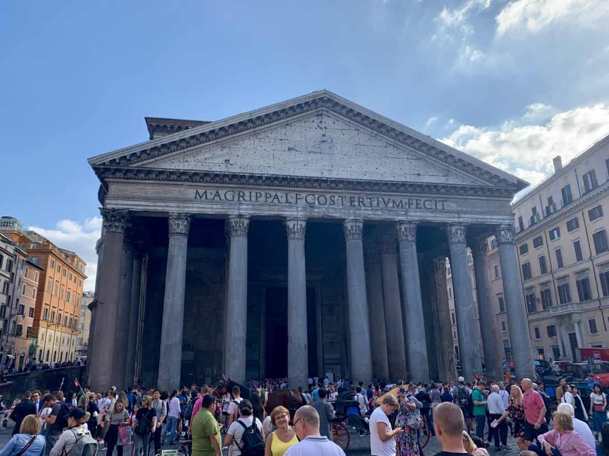 Things to do in Rome - when to see the Pantheon