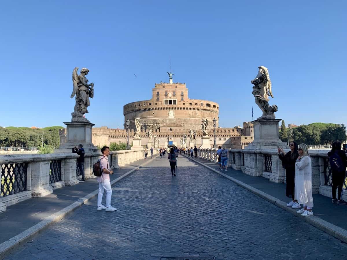 I love the Castel Sant'Angelo - Rome travel guide