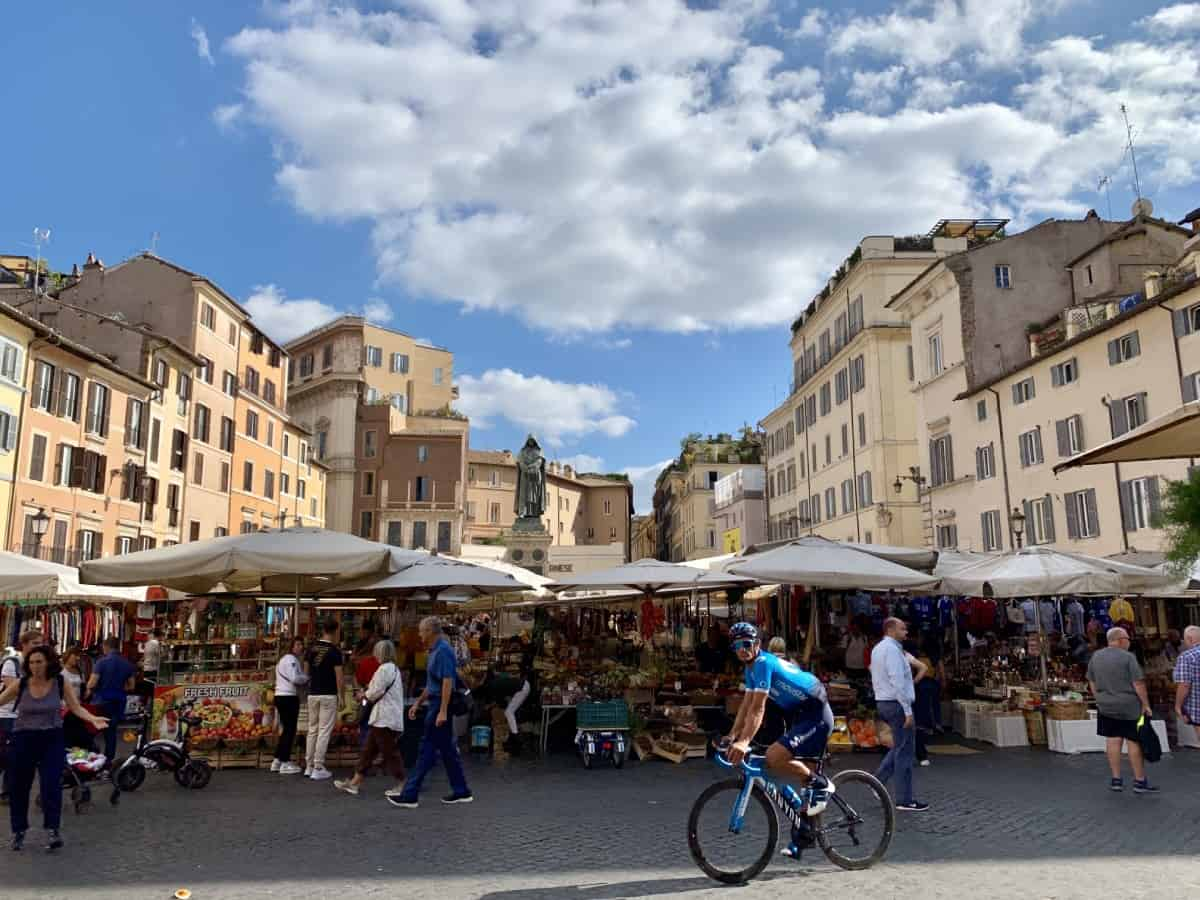 Things to do in Rome - visit Campo dei Fiori and enjoy the market