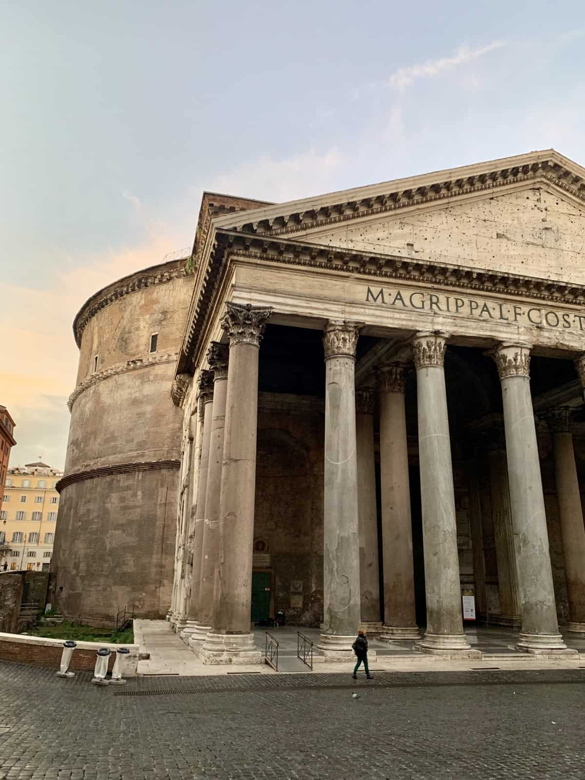 A First-Timer's Guide to Rome | A super detailed travel guide to the Eternal City, what to do in Rome whether you have one day or a week...things to do in Rome, what to see and what to skip, where to eat, sunset and sunrise Rome ideas, and more. Italy travel tips, Rome itinerary ideas, and Rome for solo travelers. Should you visit the Colosseum, Vatican Museum, Spanish Steps, & more! #rome #italy