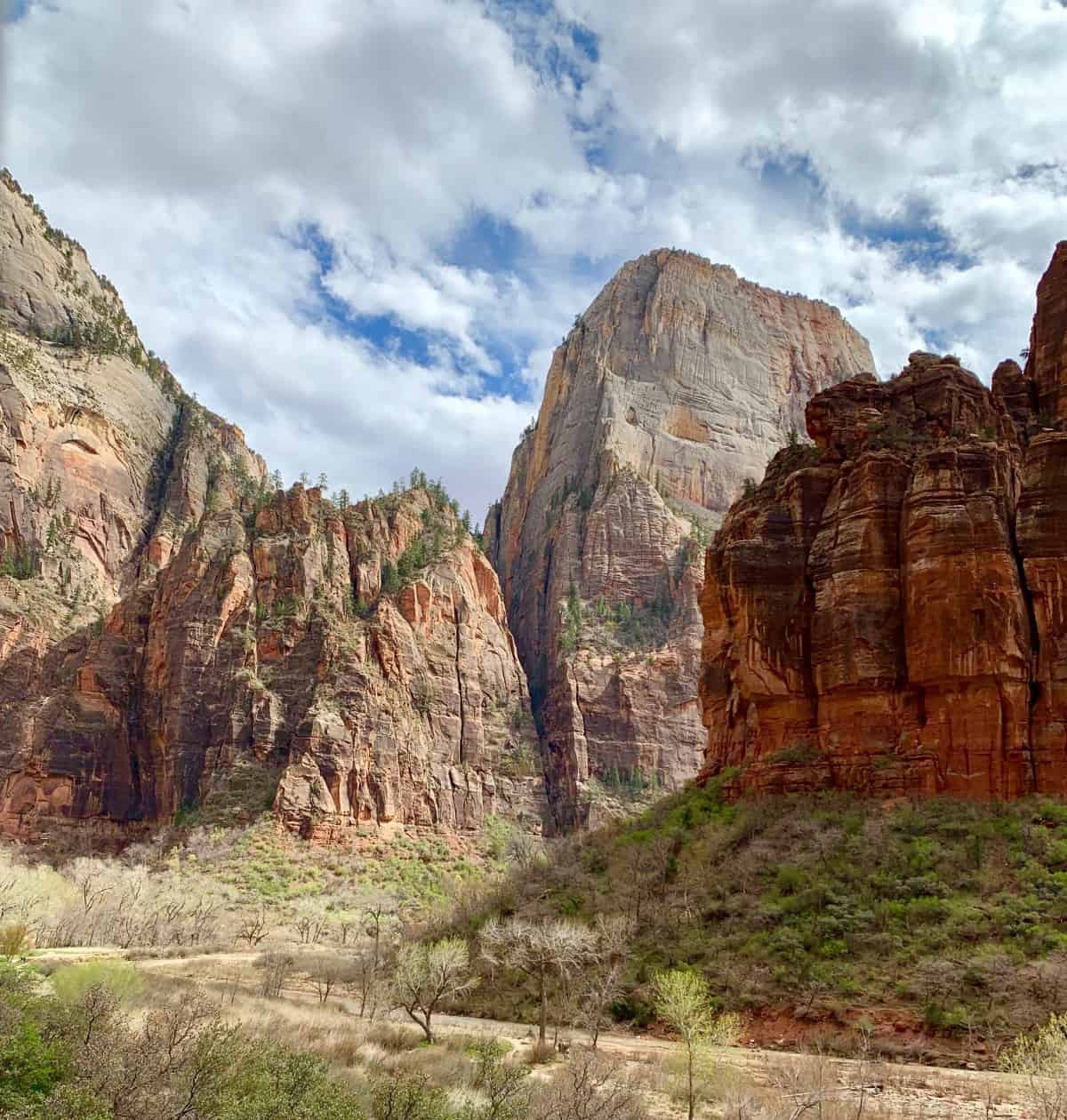 Zion National Park is an easy day trip from St. George, Utah