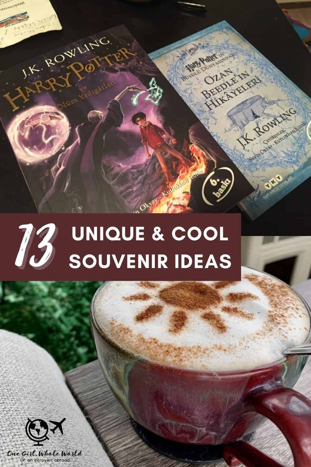 13 Cool & Unique Travel Souvenir Ideas | Inspiration for awesome souvenirs to look for on your travels...no more cheesy or tacky souvenirs! What to buy while traveling, what to look for in other countries. Travel tips. #souvenirs #traveltips