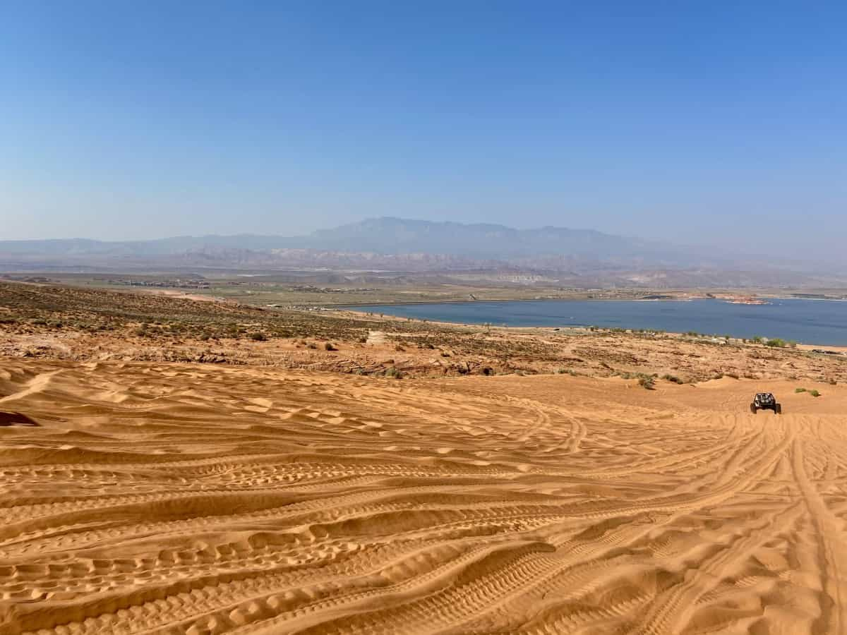 A day at Sand Hollow State Park can be fun and relaxing - things to do in St. George, Utah
