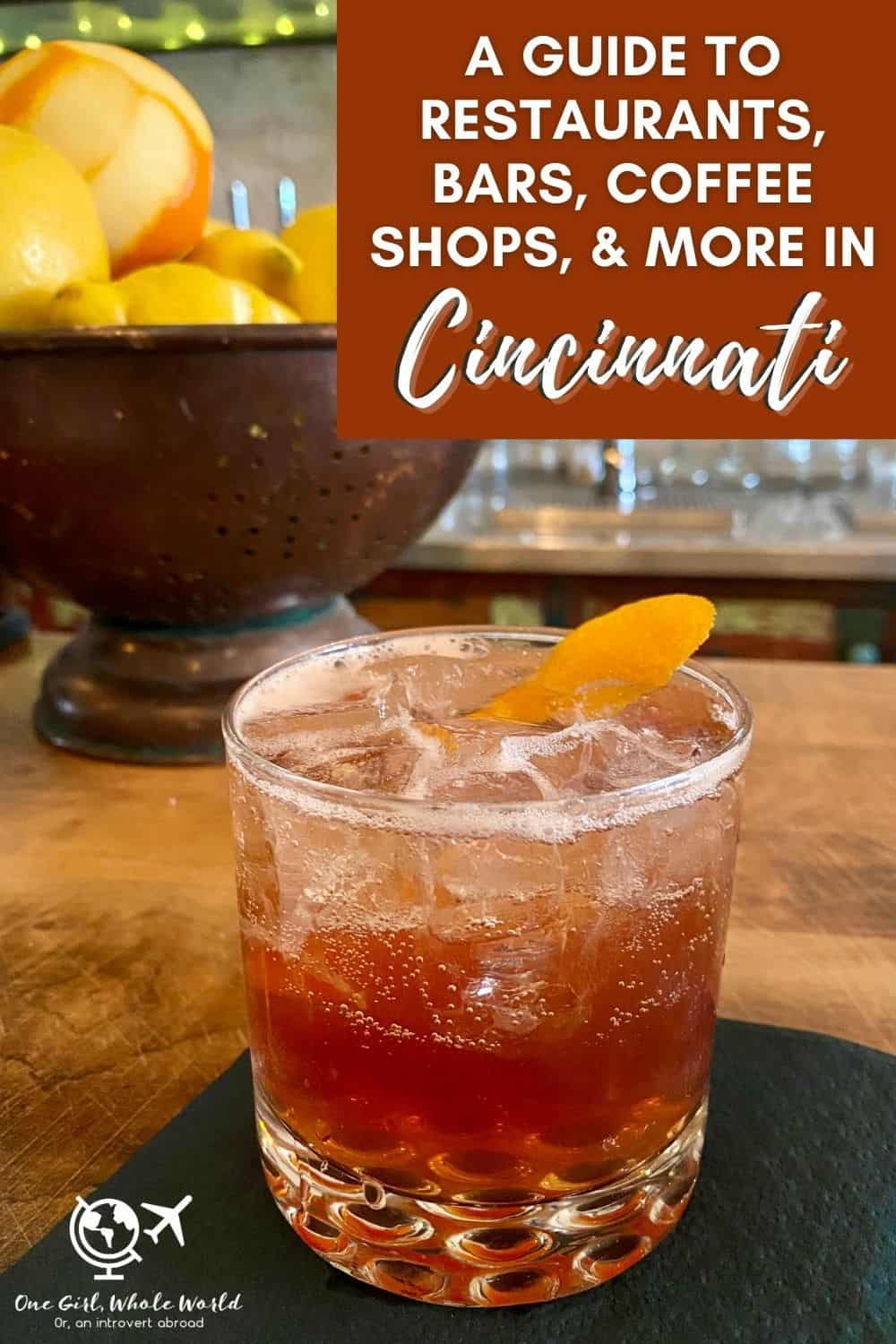 A Guide to Cincinnati's Foodie Scene | Where to eat in Cincinnati, cool bars, bakeries, breweries, Cincinnati coffee shops, and more! The food scene here is pretty awesome, and it's a great weekend trip. What to do in Cincinnati, Cincinnati restaurant recommendations, Ohio travel. #cincinnati #foodie