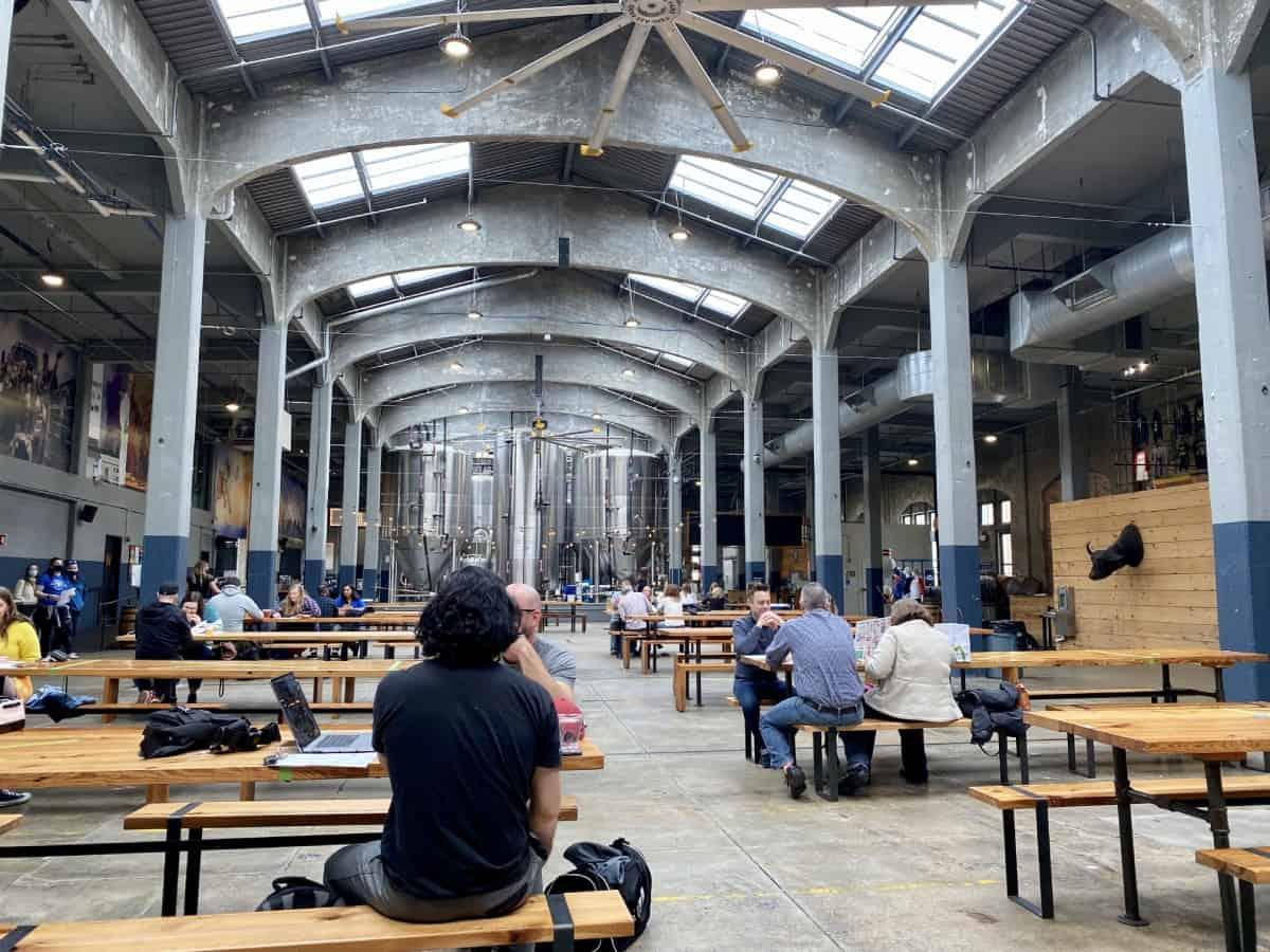 I loved the open feel of Rhinegeist Brewery - where to eat & drink in Cincinnati