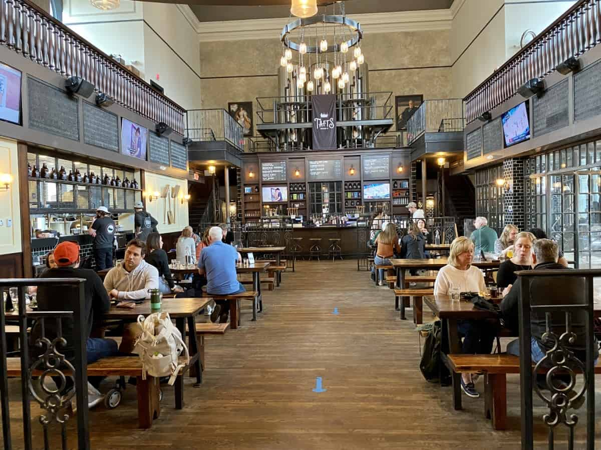 Taft's Ale House is a local institution and has to be on your list of where to eat in Cincinnati