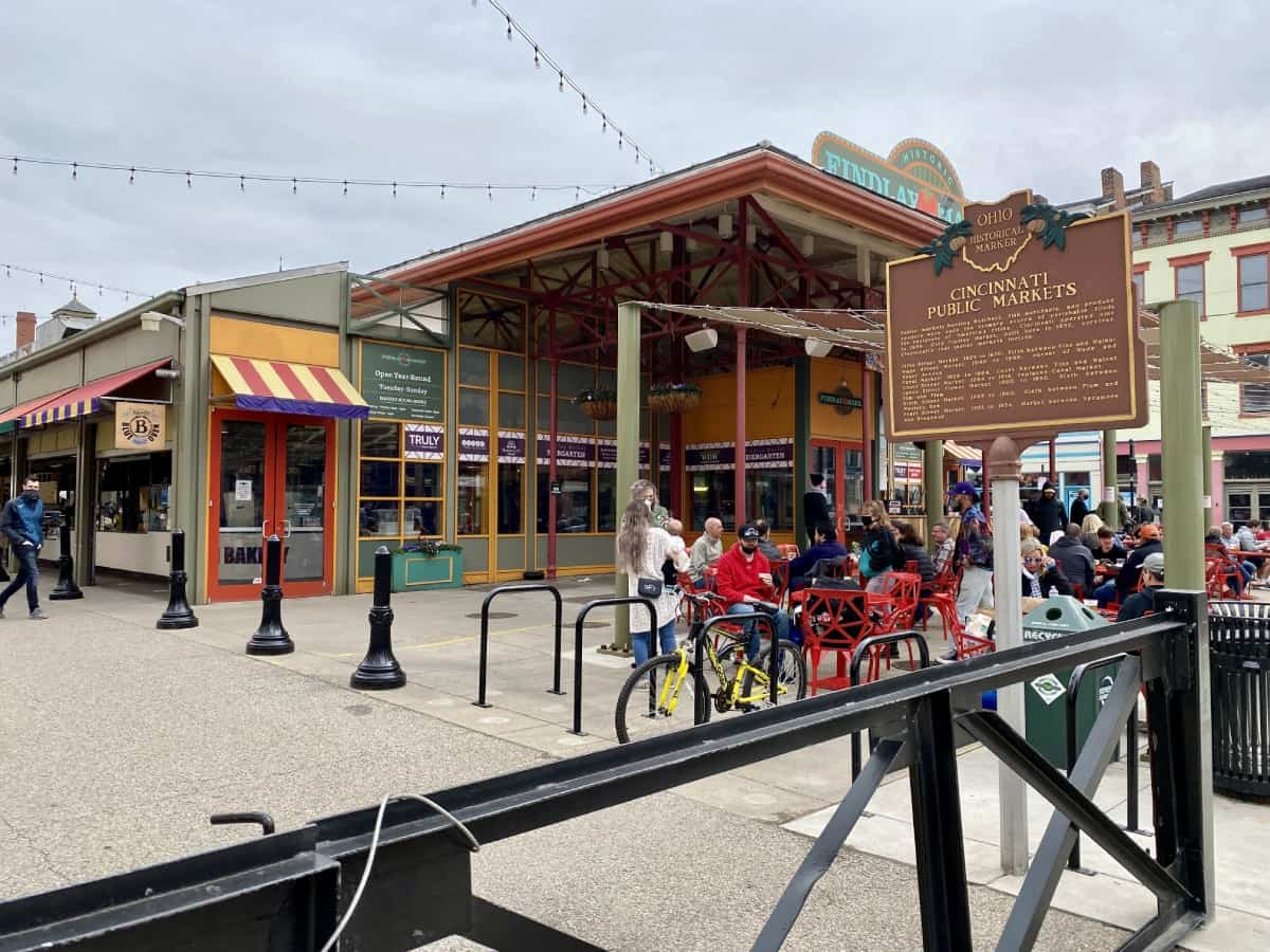 Things to do in Cincinnati on a weekend trip - pay a visit to historic Findlay Market