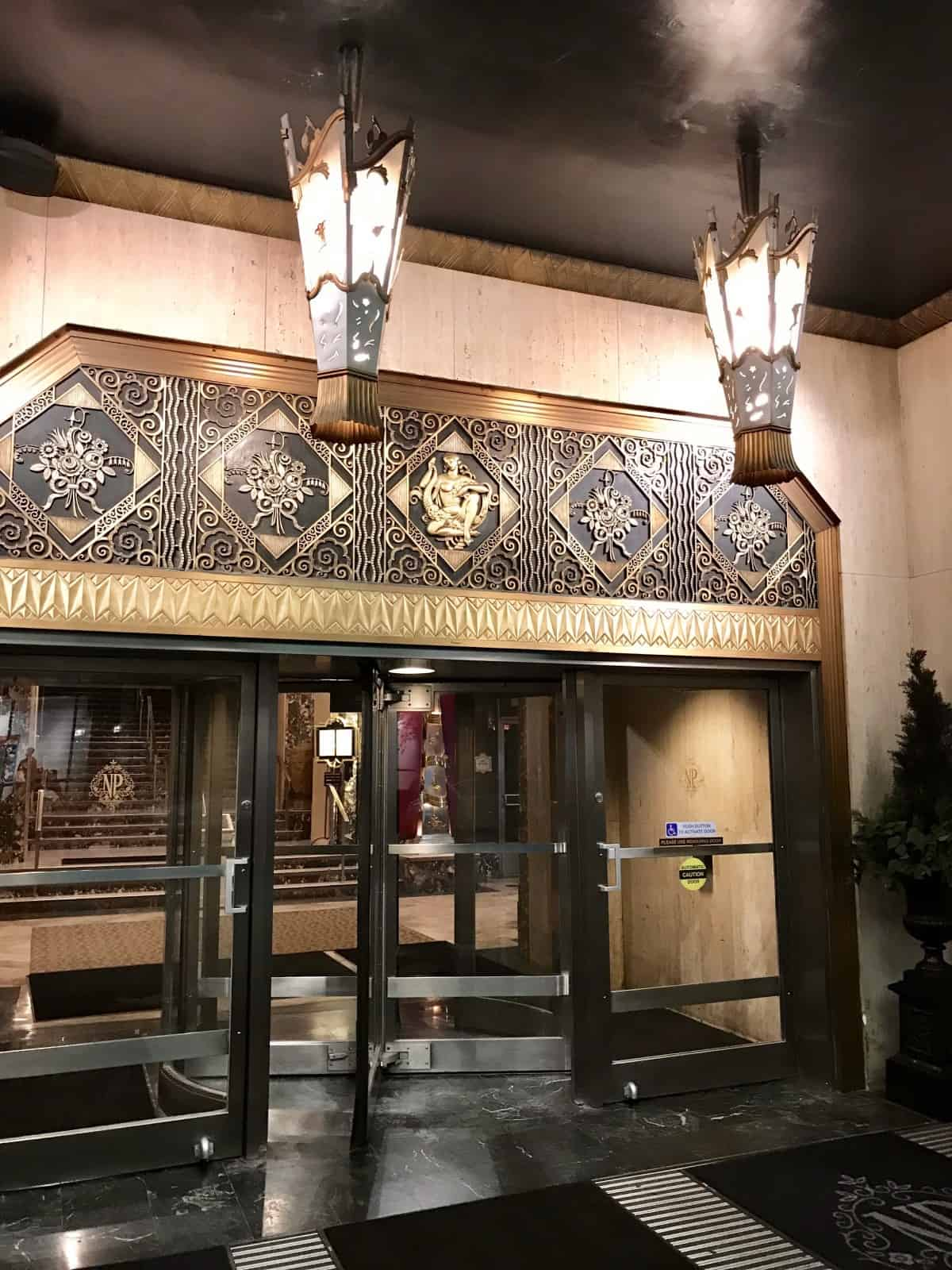 Things to do in Cincinnati on a weekend trip - consider a stay at the historic Art Deco Netherland Plaza hotel