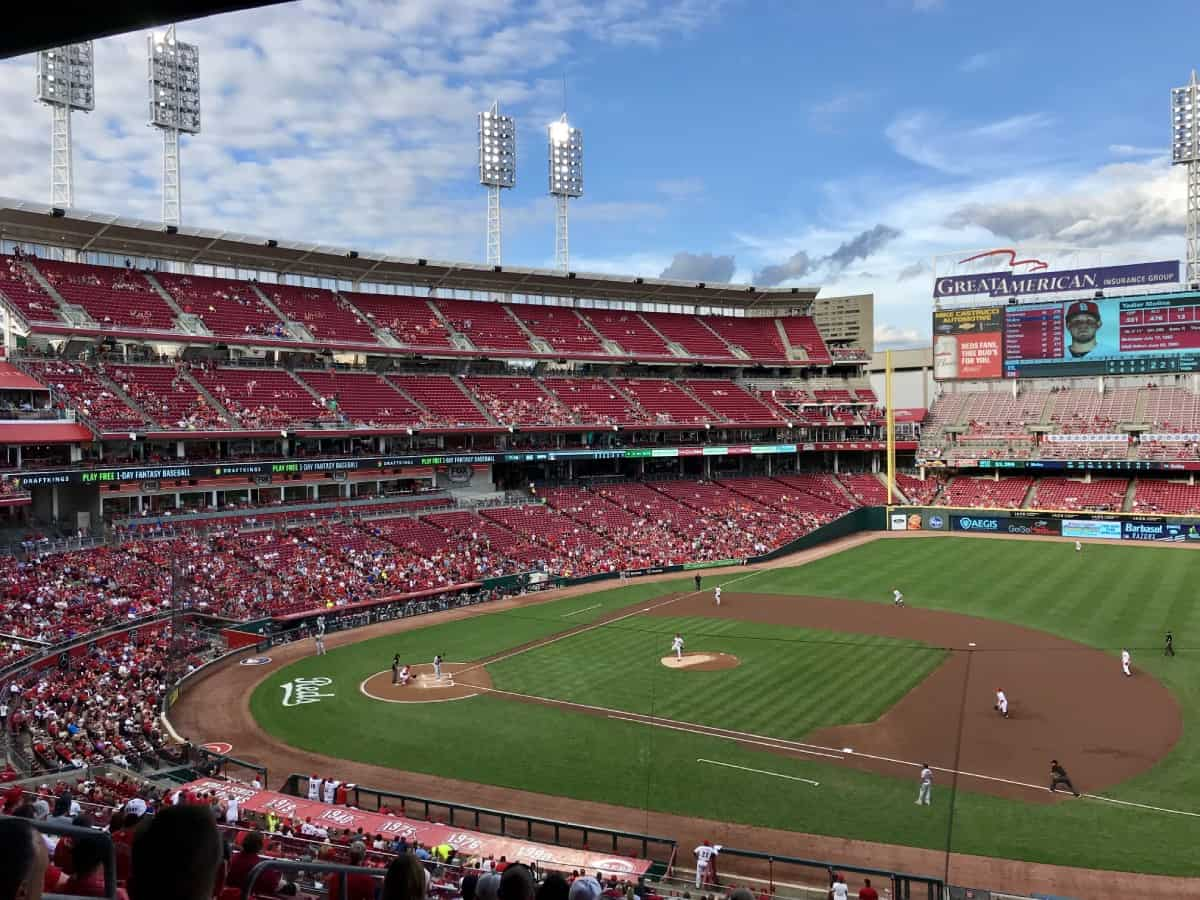 Things to do in Cincinnati on a weekend trip - catch a baseball game