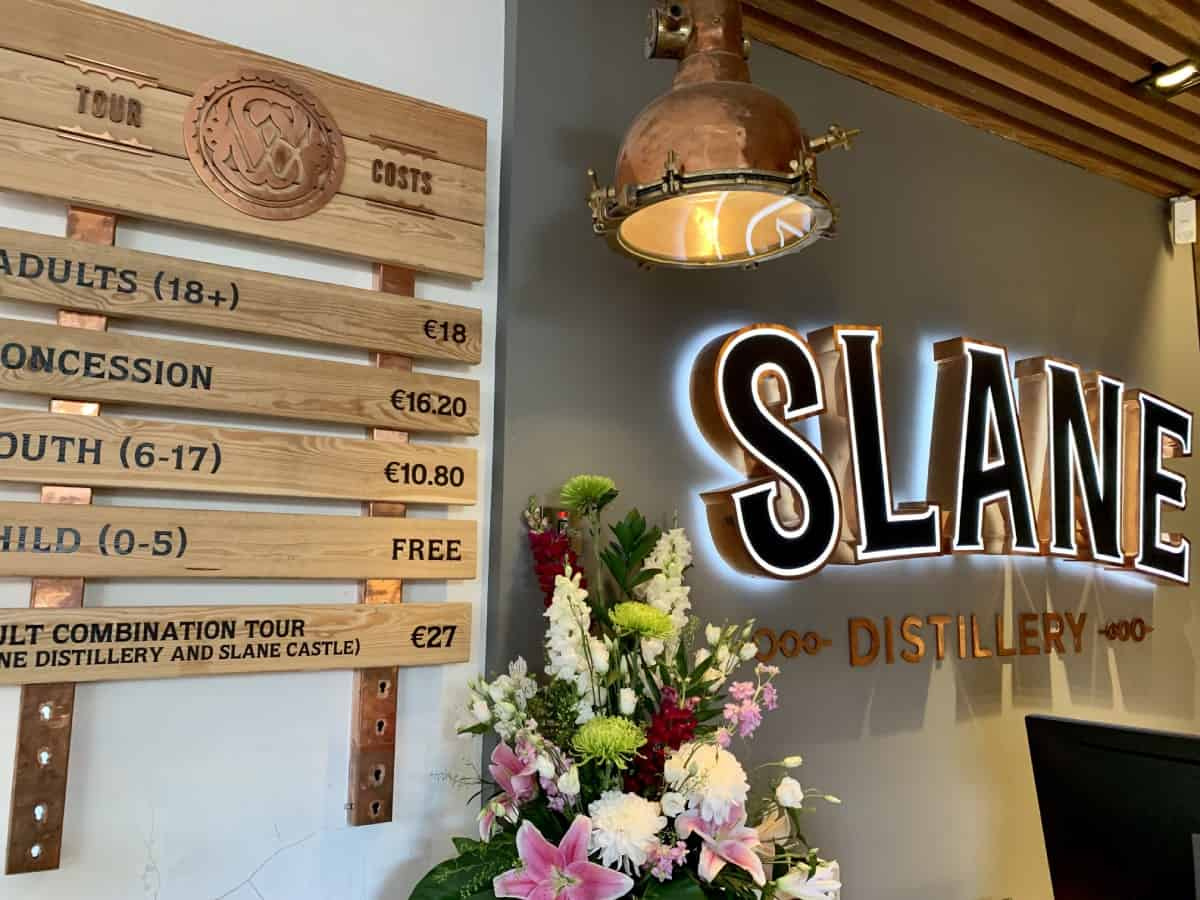 Why You Should Visit Slane Whiskey Distillery (& Slane Castle) in Ireland - a great thing to do in the Boyne Valley if you're visiting Newgrange