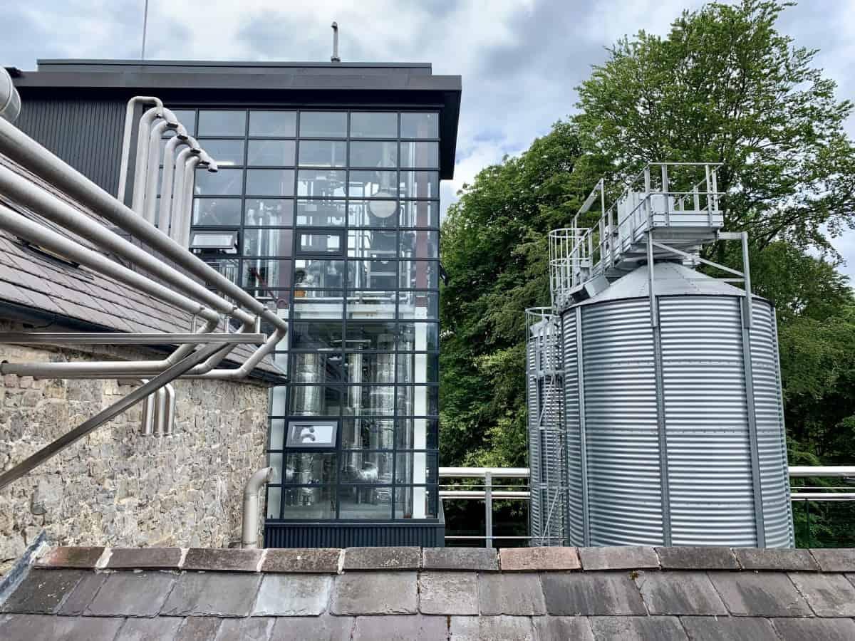 Slane Distillery's sustainability efforts are thoroughly modern despite the estate's history