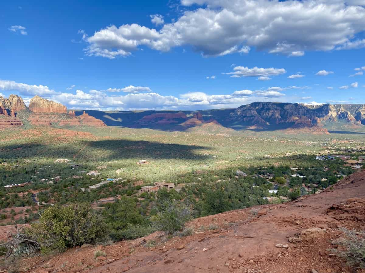 Sugarloaf Loop and Summit give you amazing views over the Sedona area...take Teacup Trail from the trailhead