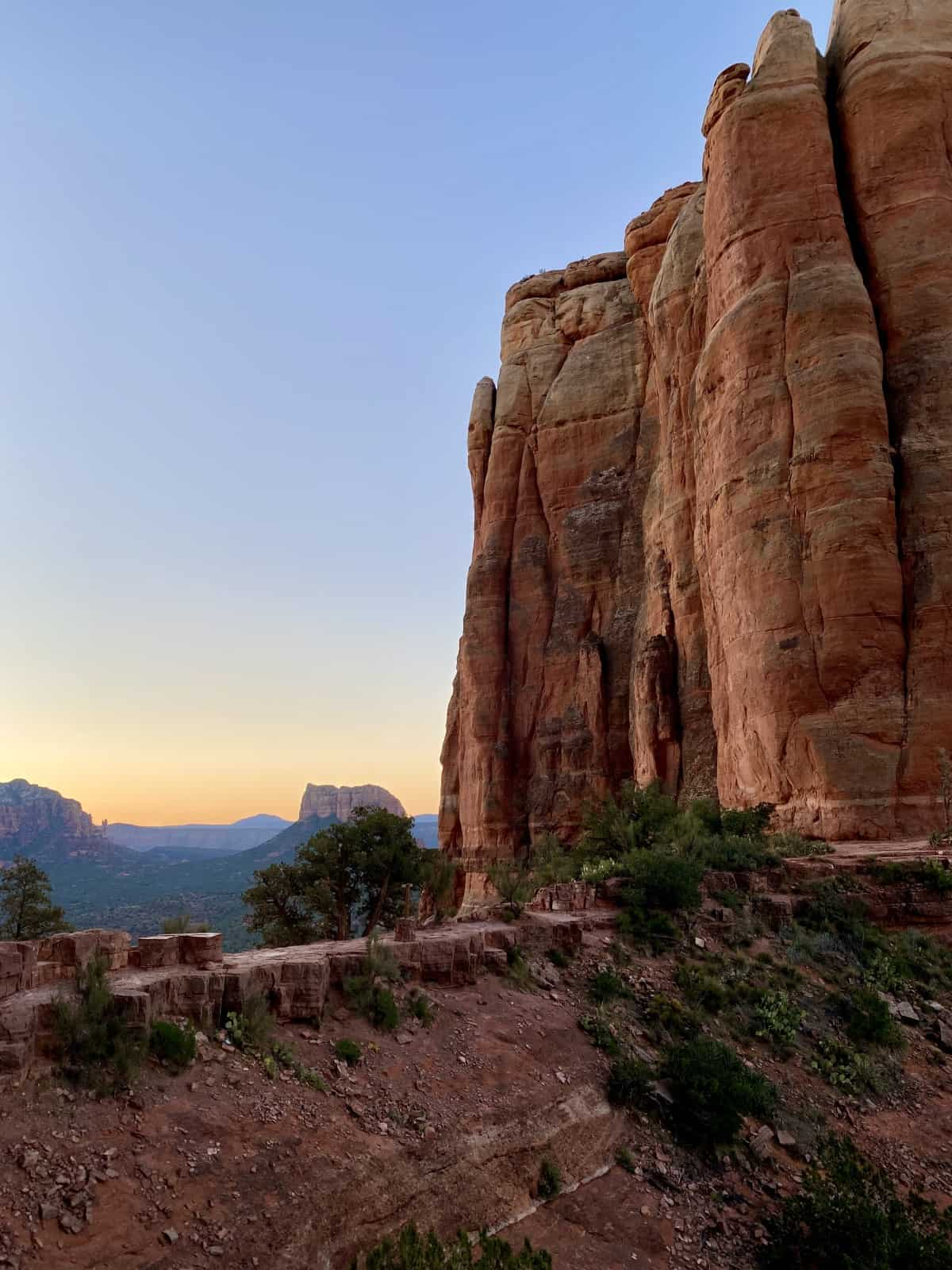 What It's Like Hiking Sedona's Cathedral Rock at Sunrise | How to plan your trip...this iconic & challenging hike is stunning any time of day, but sunrise is particularly magical | One Girl, Whole World