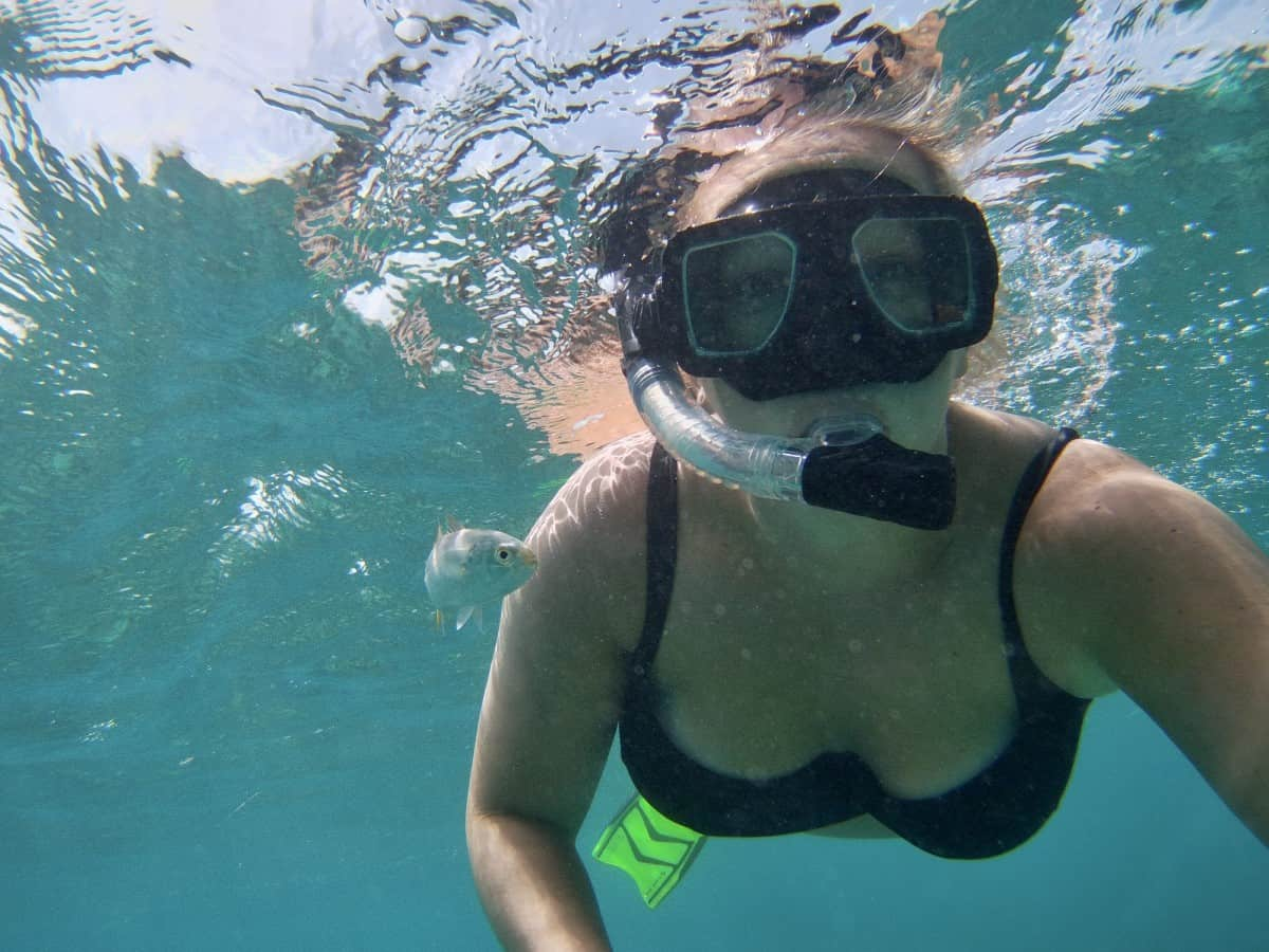 Snorkeling in a national park...why I loved my multi-day open-water sailing trip Key West to Dry Tortugas