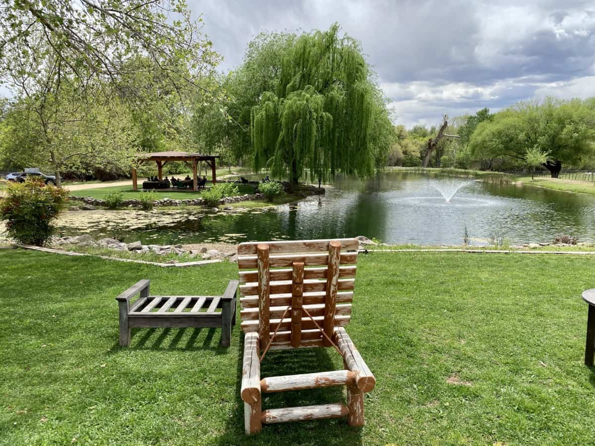 D.A. Ranch never feels crowded, even on the weekend - the must-visit Sedona wineries