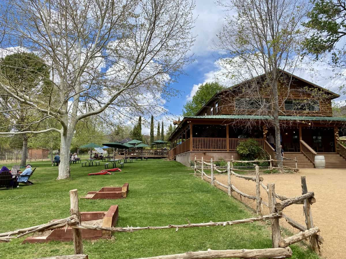 D.A. Ranch was hands down my favorite of the Sedona wineries I visited...a must if you want to go wine tasting in Sedona!
